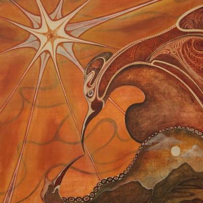 LA ESTRELLA.Ibiza 2007  26x38cm. Acrílico sobre madera. Acrylic on wood.