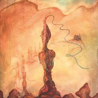 LA PIEDRA DE AGUA .WATERSTONE  Ibiza 2005 81x100cm. Acrílico sobre lienzo de pasta. Acrylic on textured canvas.