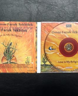 OMAR FARUK TEKBILEK. LOVE IS MY RELIGION. new relase