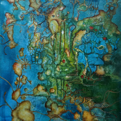 FORMACION.30x40cm.Oil on canvas. Ibiza 2018.