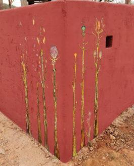 MUTATIS PLANTS MURAL. Forada, Ibiza.